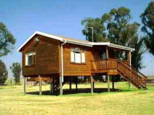 Wooden Cottages - Sleep 5 to 6 people.